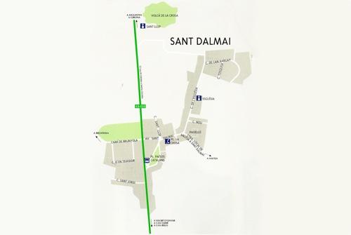Plànol de Sant Dalmai