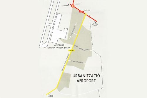 Plànol Urbanització Aeroport