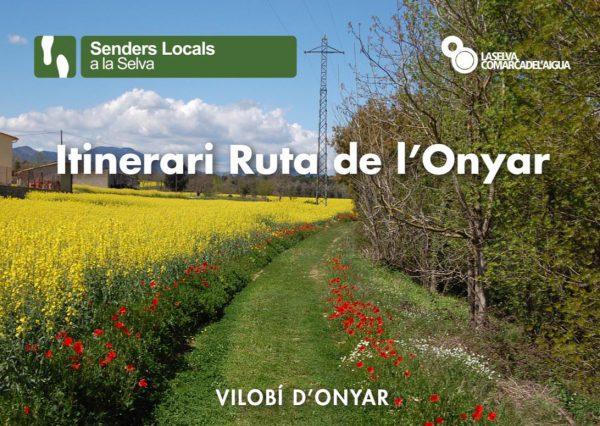 Itinerari ruta de l'Onyar