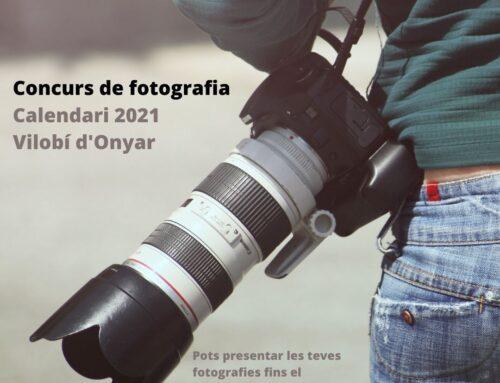 Ja podeu participar al concurs de fotografia per al calendari 2021!